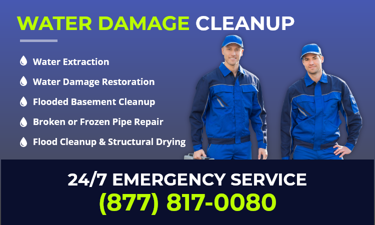 water restoration services in Cicero